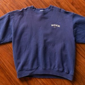Vintage 90s Nike USA White Label Sweatshirt